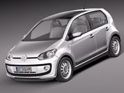 Volkswagen Up! 4-deurs 2013 3d model