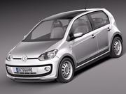 Volkswagen Up! 4-drzwiowy 2013 3d model
