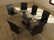 table à dinner 3d model