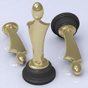 Trophy Figure 3d model