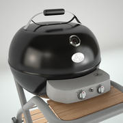 Grill Kettle Barbecue V-Ray 3d model