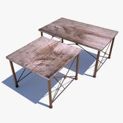 餐桌 3d model