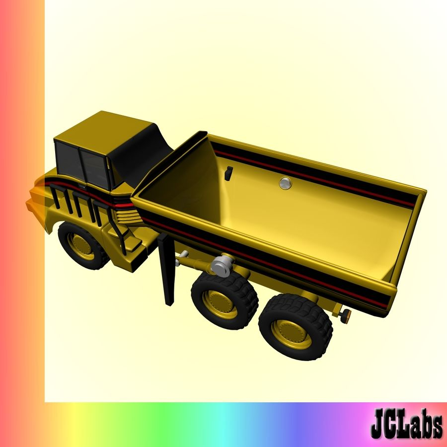 Truck royalty-free 3d model - Preview no. 3
