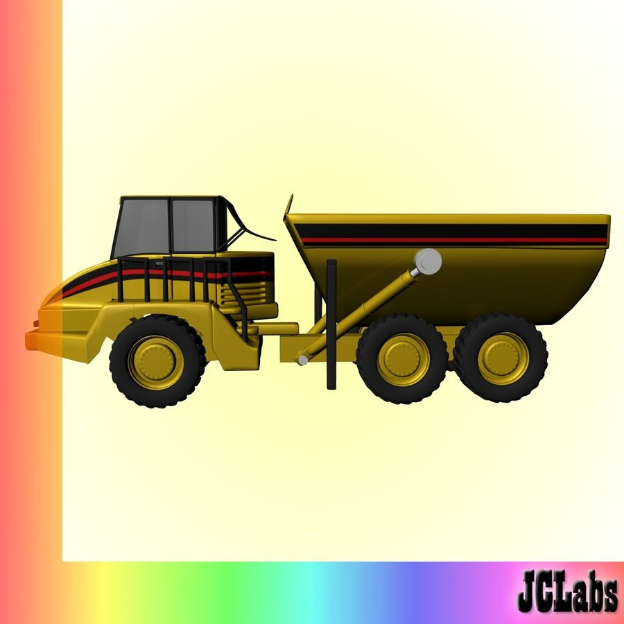 Truck royalty-free 3d model - Preview no. 2