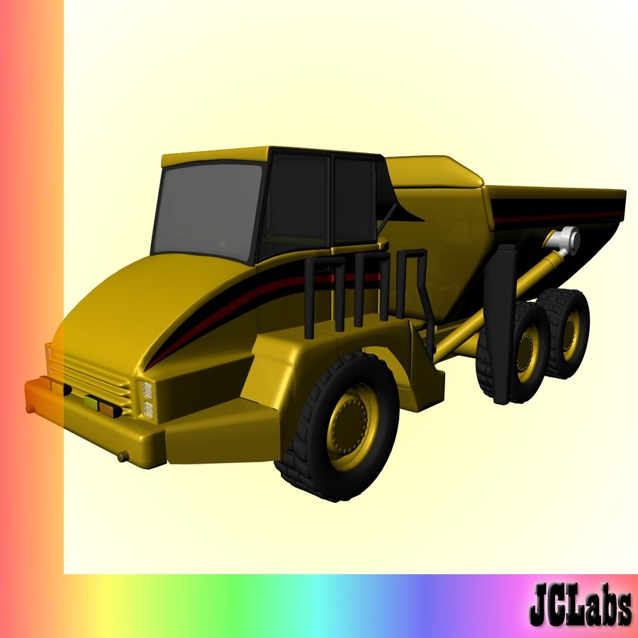 Truck royalty-free 3d model - Preview no. 1