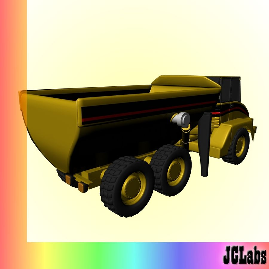 Truck royalty-free 3d model - Preview no. 4