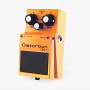 Pedal de efectos de guitarra Boss DS-1 modelo 3d
