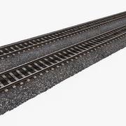 Железнодорожные пути 1 3d model