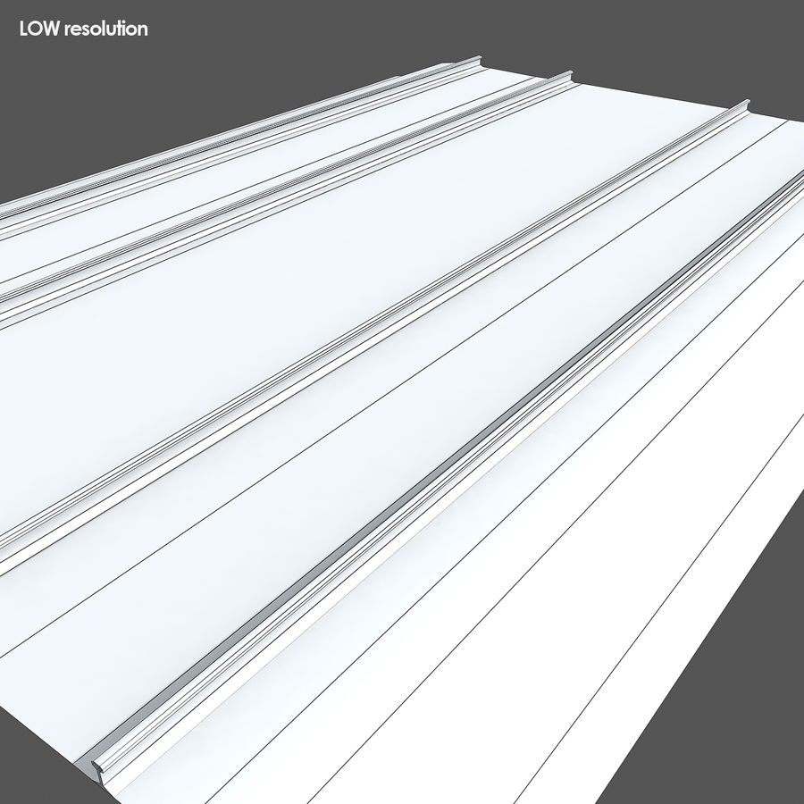 Railway Tracks 1 royalty-free 3d model - Preview no. 13