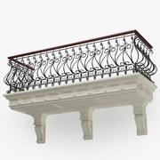 Balcony011 3d model