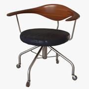 Wegner Swivel Chair PP502 3d model