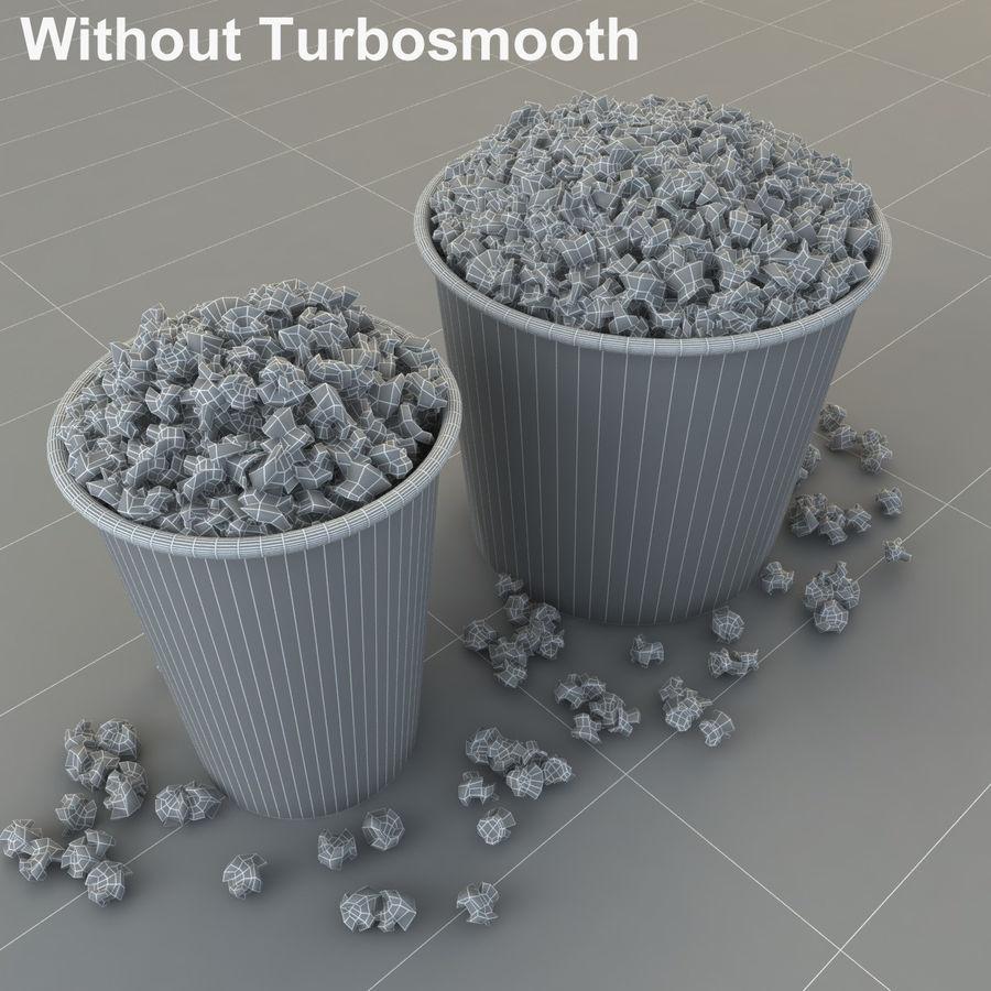 Popcorn W Wannach royalty-free 3d model - Preview no. 10