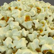 Popcorn In Tubs 3d model