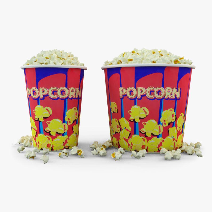 Popcorn W Wannach royalty-free 3d model - Preview no. 1