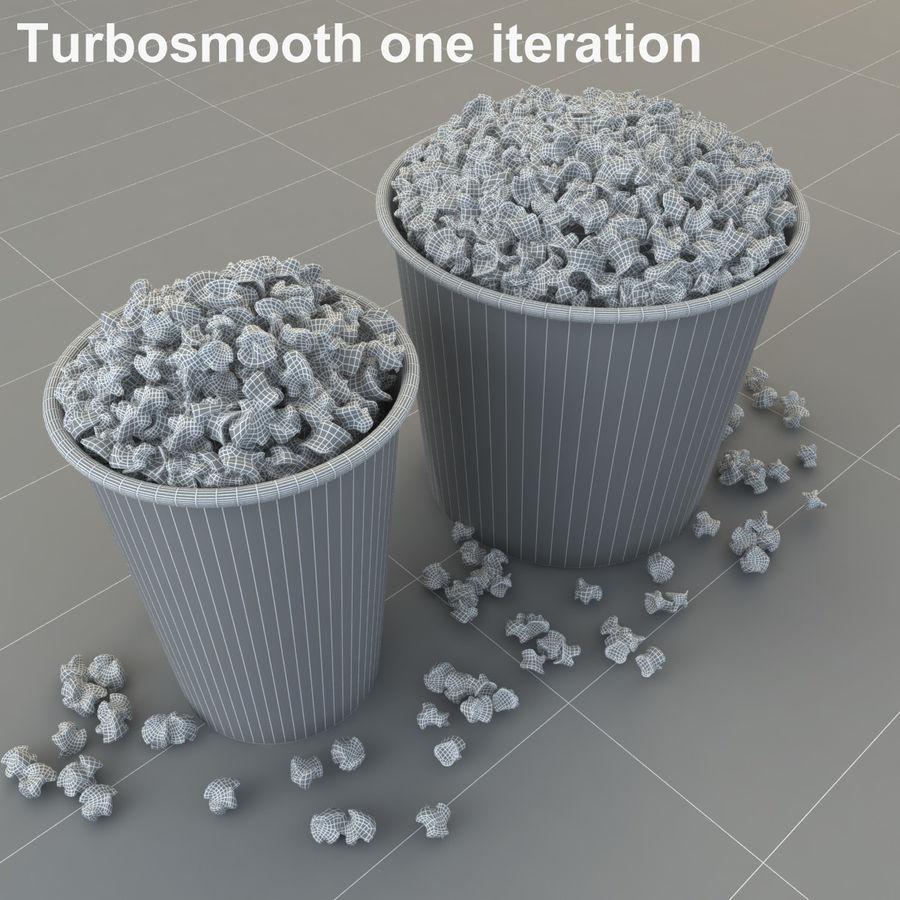 Popcorn W Wannach royalty-free 3d model - Preview no. 9