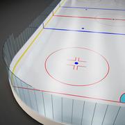 Campo de hockey modelo 3d
