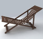 Deckchair 12 3d model