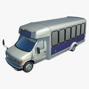 예산 버스 3d model