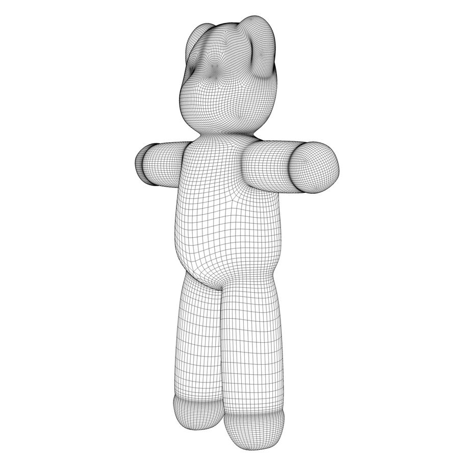Teddy Bear royalty-free 3d model - Preview no. 13