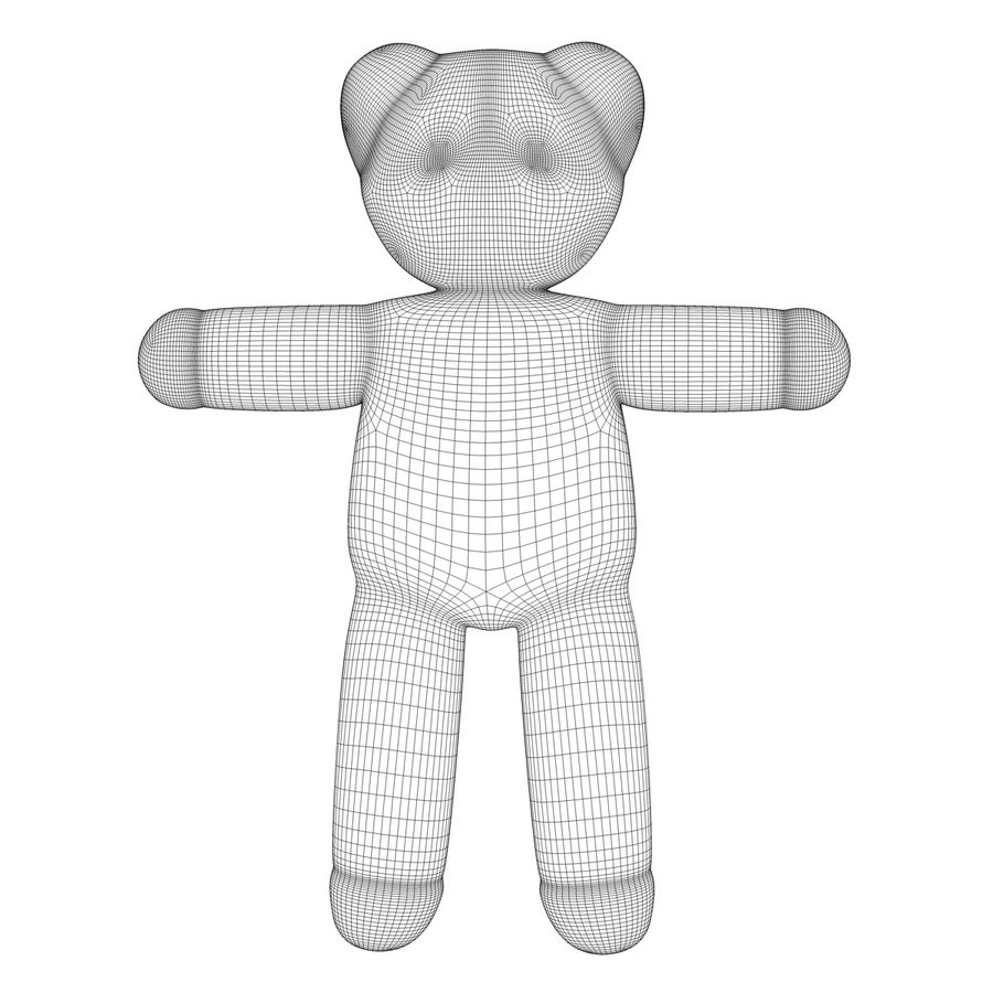 Teddy Bear royalty-free 3d model - Preview no. 12
