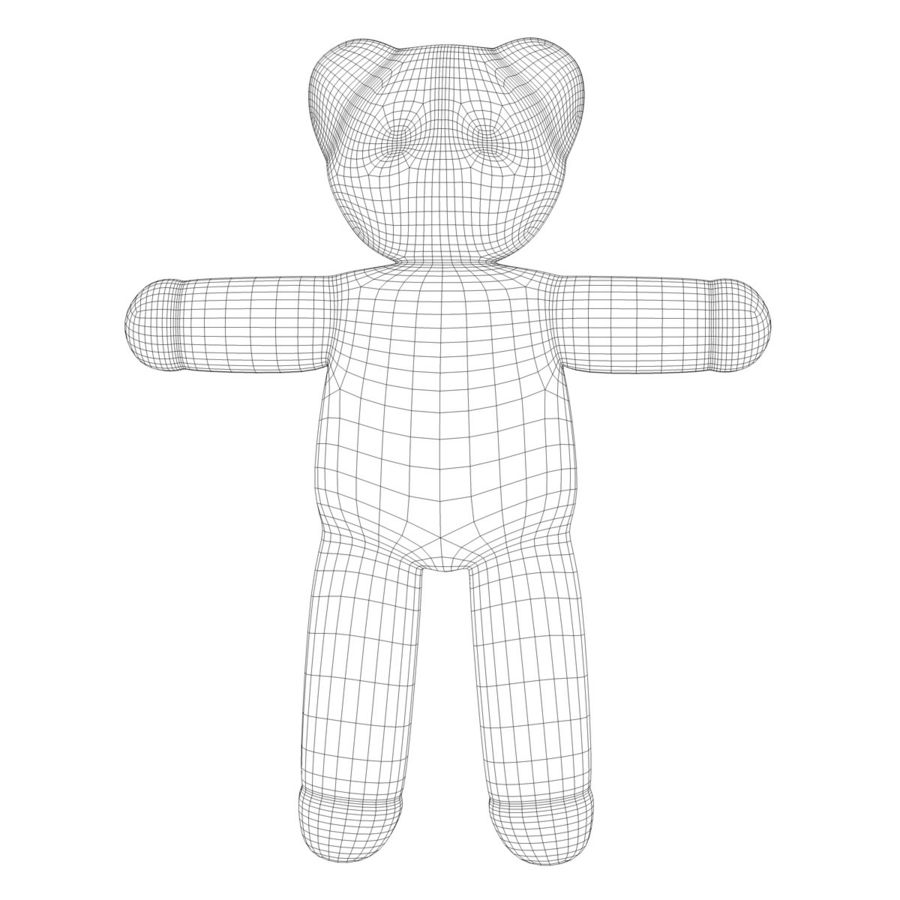 Teddy Bear royalty-free 3d model - Preview no. 11