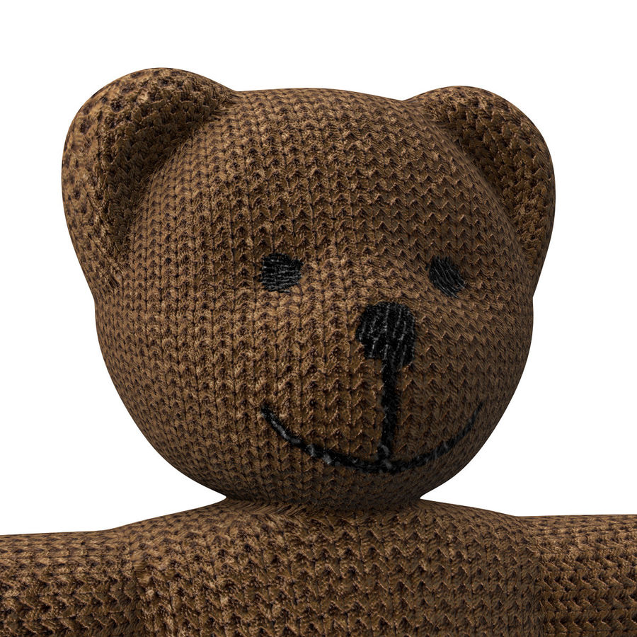 Teddy Bear royalty-free 3d model - Preview no. 9