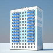 Stad gebouw 3d model