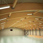 Salão de esporte 3d model