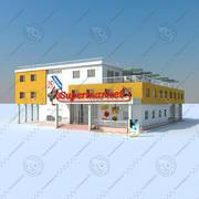 Mercato 3d model