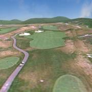 Golf Course Lightwave 3d model