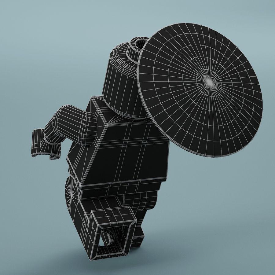 레고 캡틴 아메리카 royalty-free 3d model - Preview no. 9