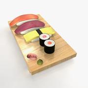 Sushi 3d model 3d model