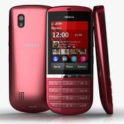 Nokia Asha 300 3d model