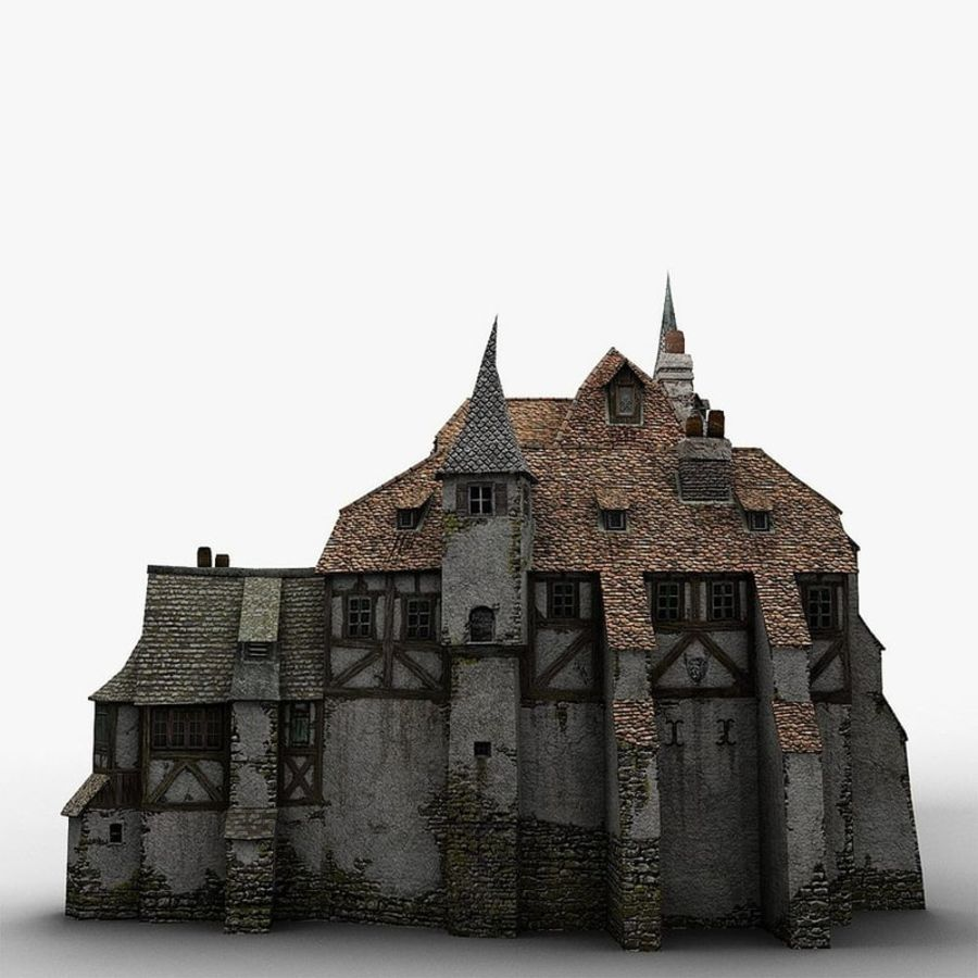 Medieval Warehouse royalty-free 3d model - Preview no. 12