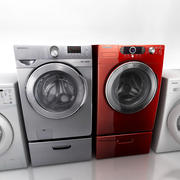 Washing Machine Collection 3d model
