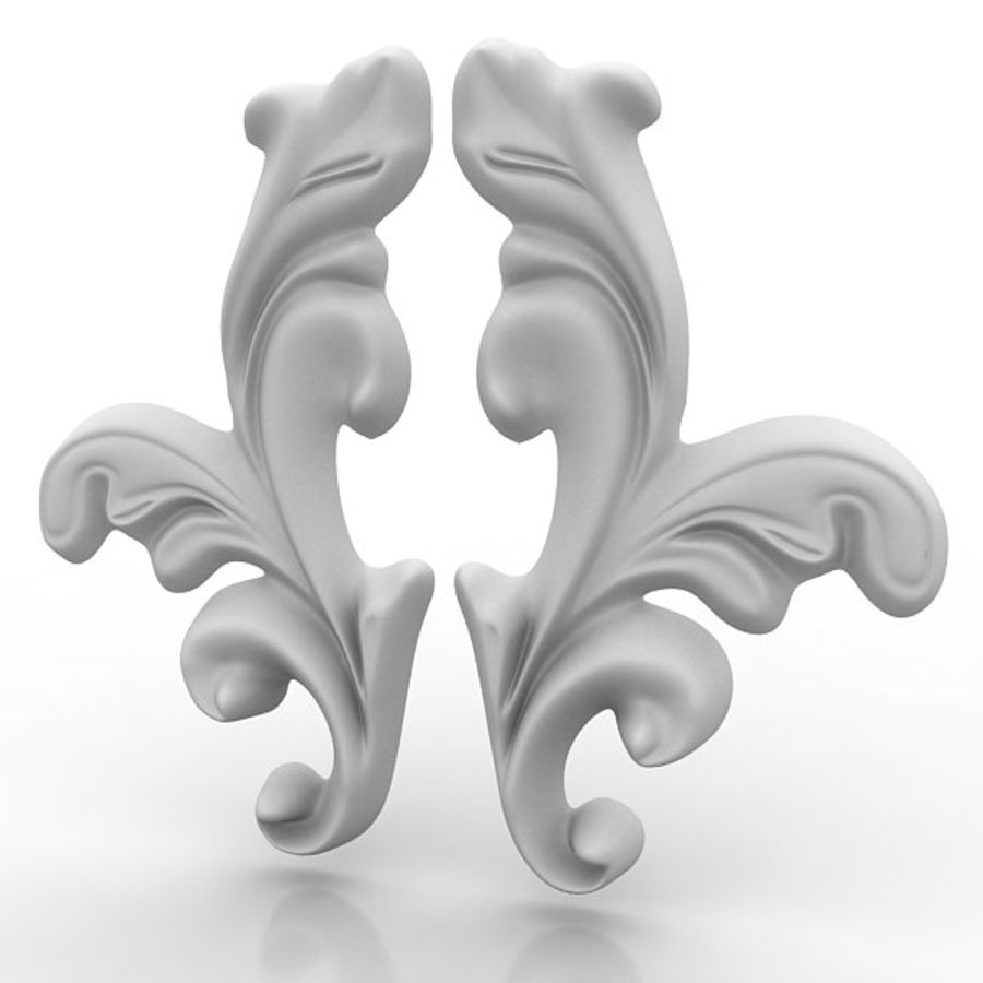 Architectural Elements 20 royalty-free 3d model - Preview no. 2