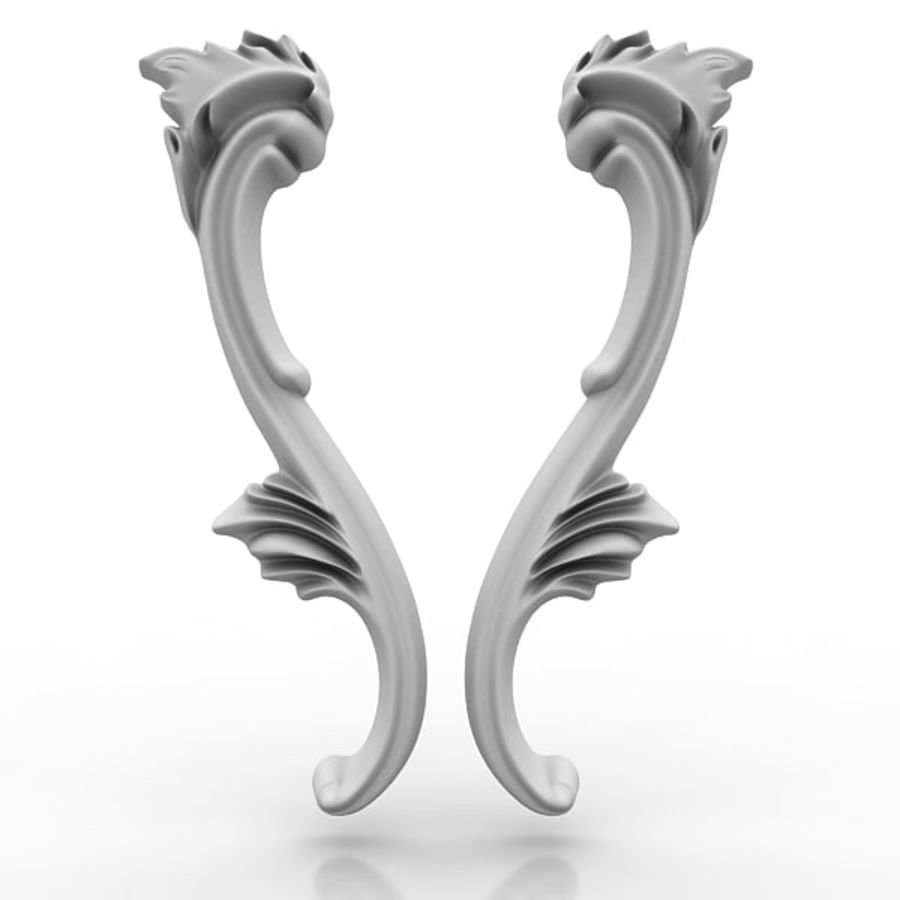 Architectural Elements 21 royalty-free 3d model - Preview no. 4