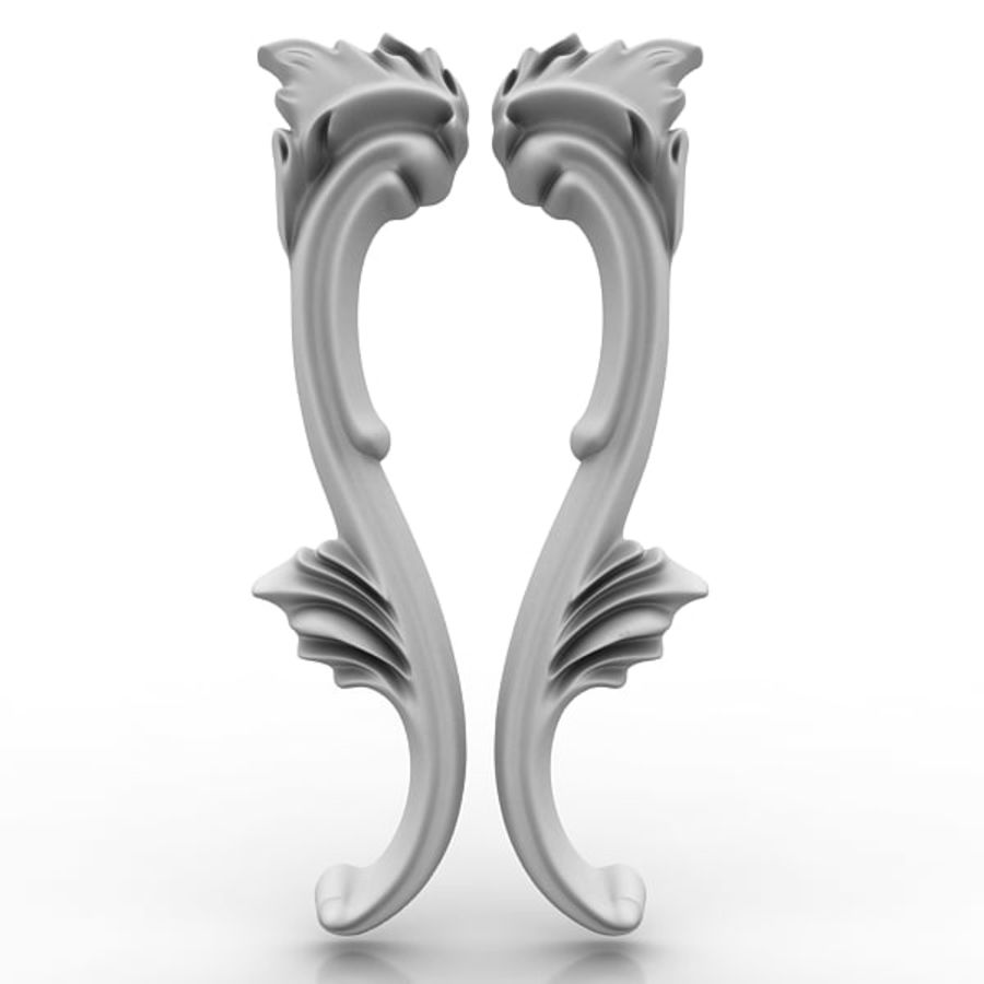 Architectural Elements 21 royalty-free 3d model - Preview no. 1