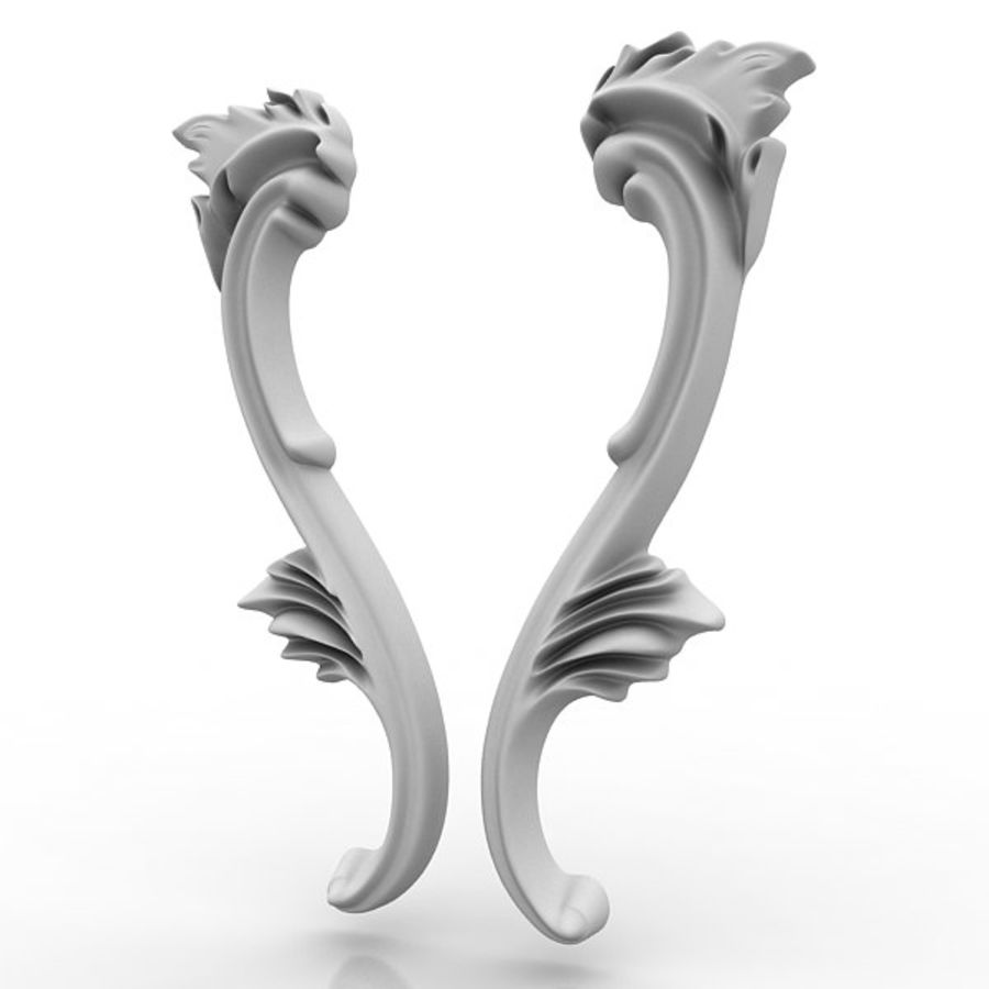 Architectural Elements 21 royalty-free 3d model - Preview no. 5