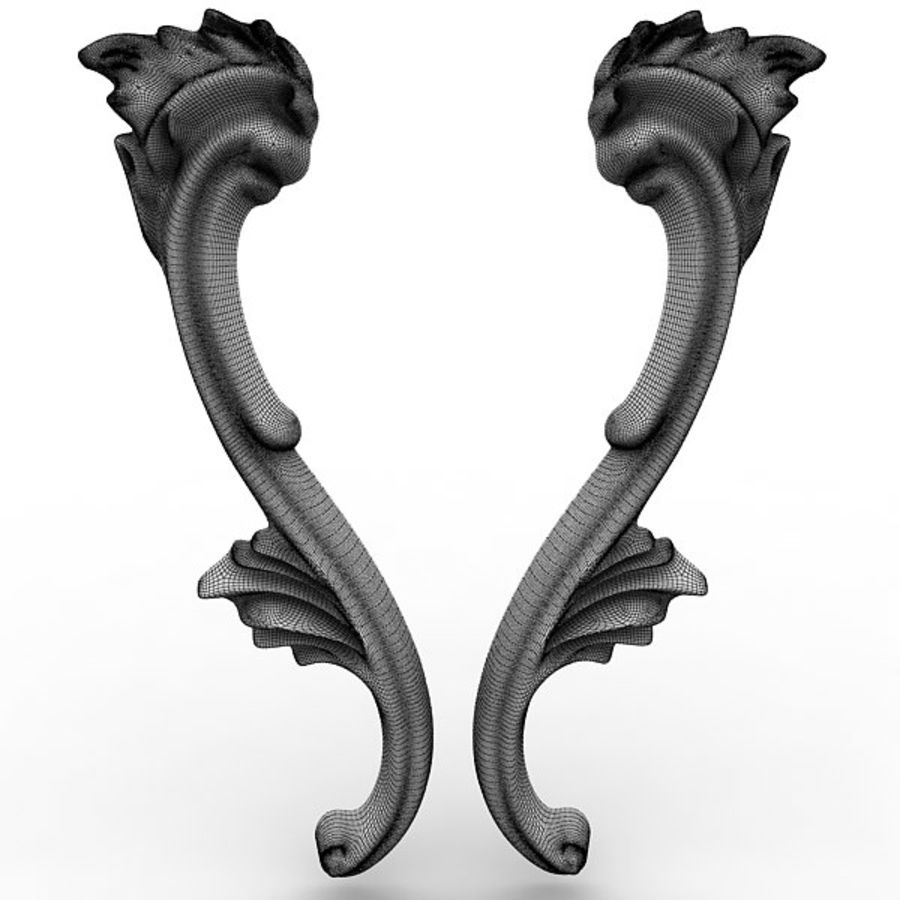 Architectural Elements 21 royalty-free 3d model - Preview no. 8