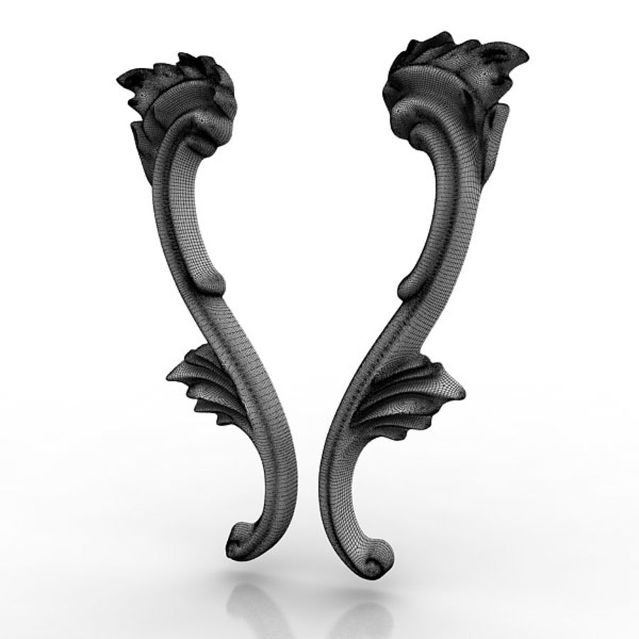Architectural Elements 21 royalty-free 3d model - Preview no. 7