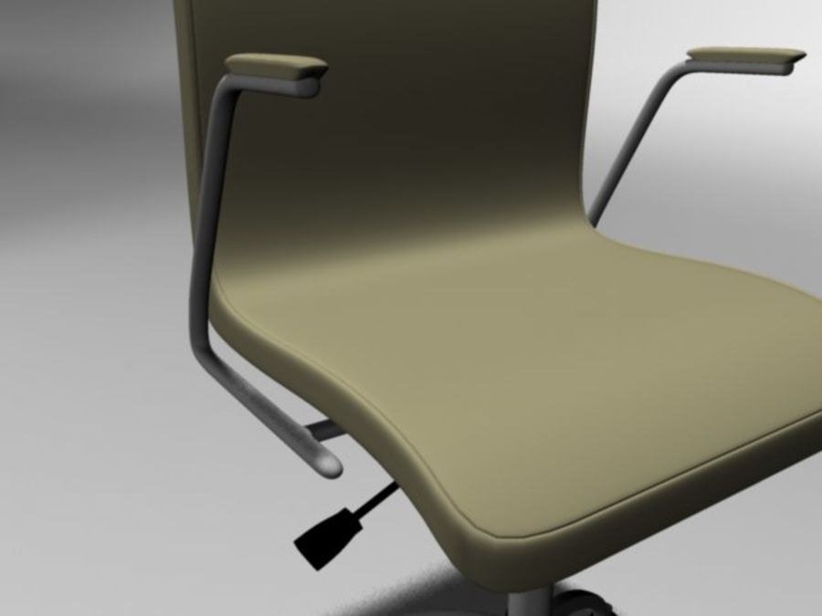 Swivel Chair royalty-free 3d model - Preview no. 4