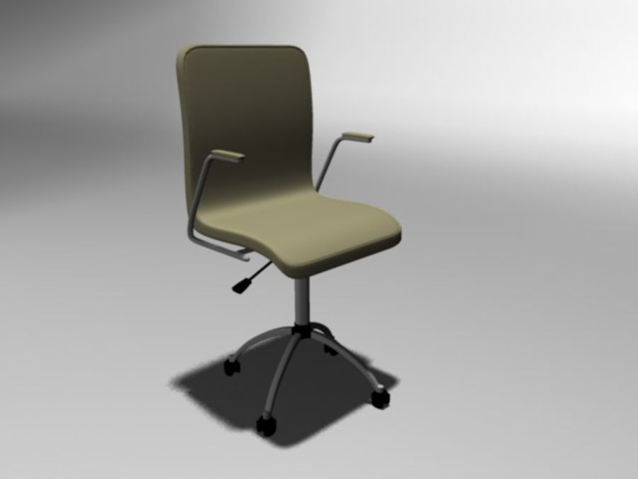 Swivel Chair royalty-free 3d model - Preview no. 1