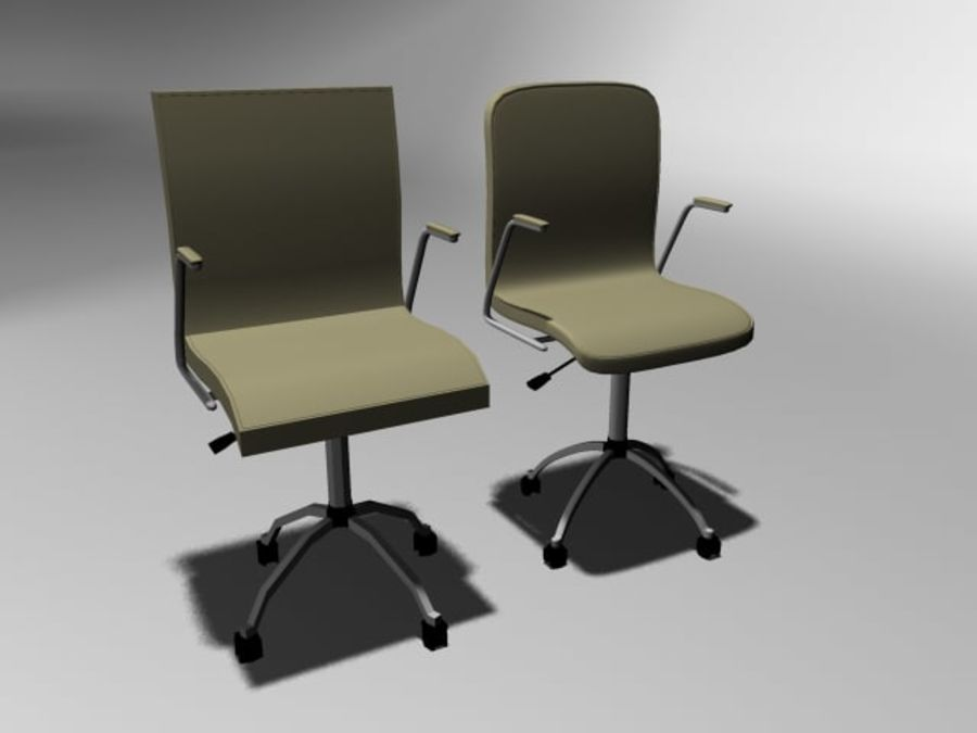 Swivel Chair royalty-free 3d model - Preview no. 5