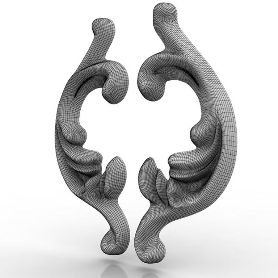 Arkitektoniska element 29 royalty-free 3d model - Preview no. 9