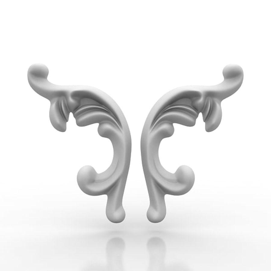 Arkitektoniska element 29 royalty-free 3d model - Preview no. 3