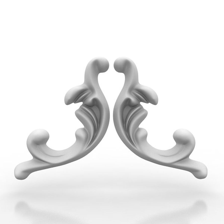 Arkitektoniska element 29 royalty-free 3d model - Preview no. 4