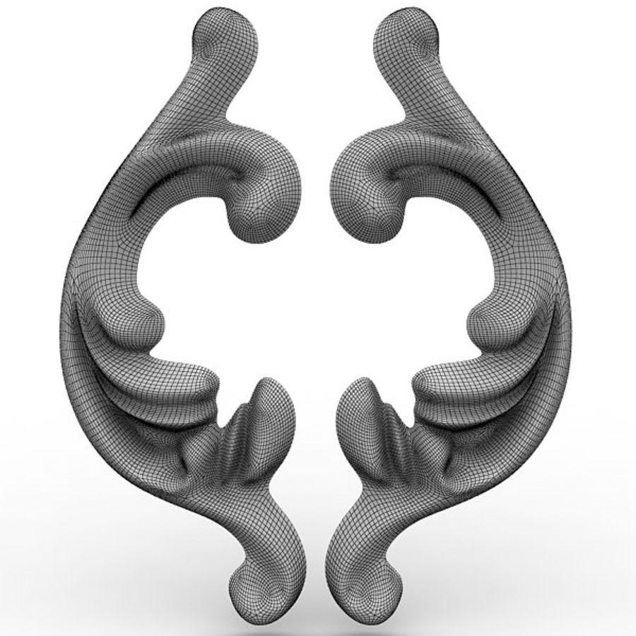 Arkitektoniska element 29 royalty-free 3d model - Preview no. 8