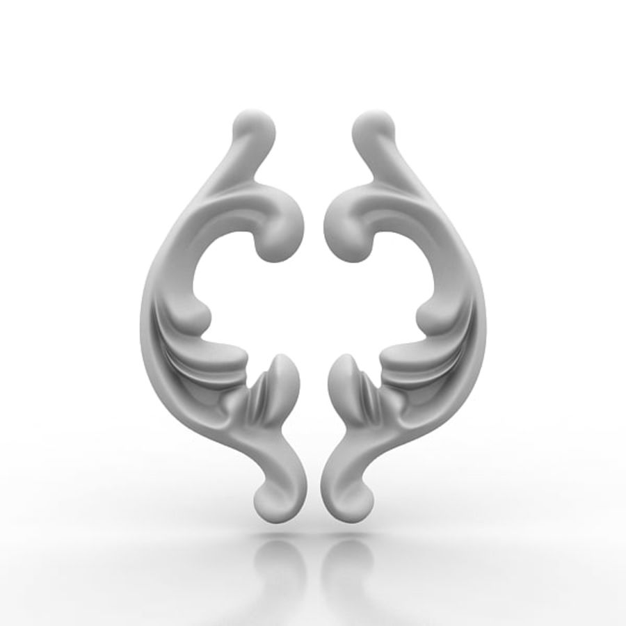 Arkitektoniska element 29 royalty-free 3d model - Preview no. 5