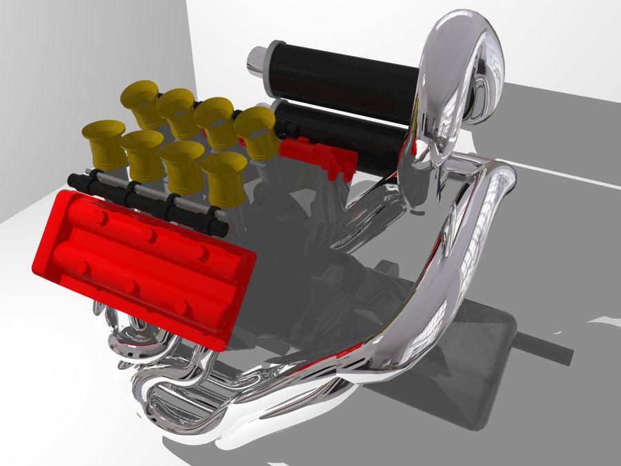 Silnik Ariel Atom V12 royalty-free 3d model - Preview no. 3